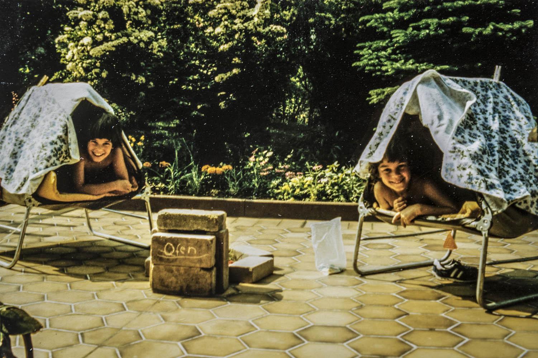 F2A0493Zelten mit Schwester Rita Lohmann in Enkenbach-Alsenborn, Deutschland.Camping with sister Rita Lohmann in Enkenbach-Alsenborn, Germany.Poto: Elke Lohmann