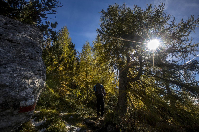131018 _1197Ein perfekter Herbsttag zum Wandern in der Pala, Dolomiten, Italien.A breathtaking autumn in Pala Group is perfect for hiking, Dolomites, Italy.