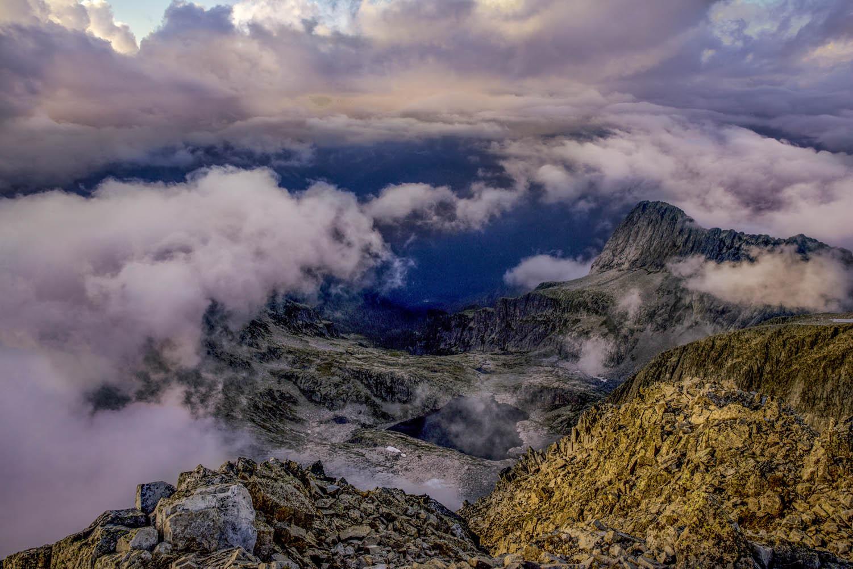 130830_2143Sonnenaufgang an der Cima d'Asta, Dolomiten, Italien.Sunrise at Cima d'Asta, Dolomites, Italy.