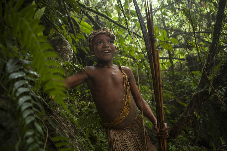 PNG08_0610_3629Bei dem Stamm der Anga, Papua- Neuguinea.With the Anga tribe, Papua New Guinea.