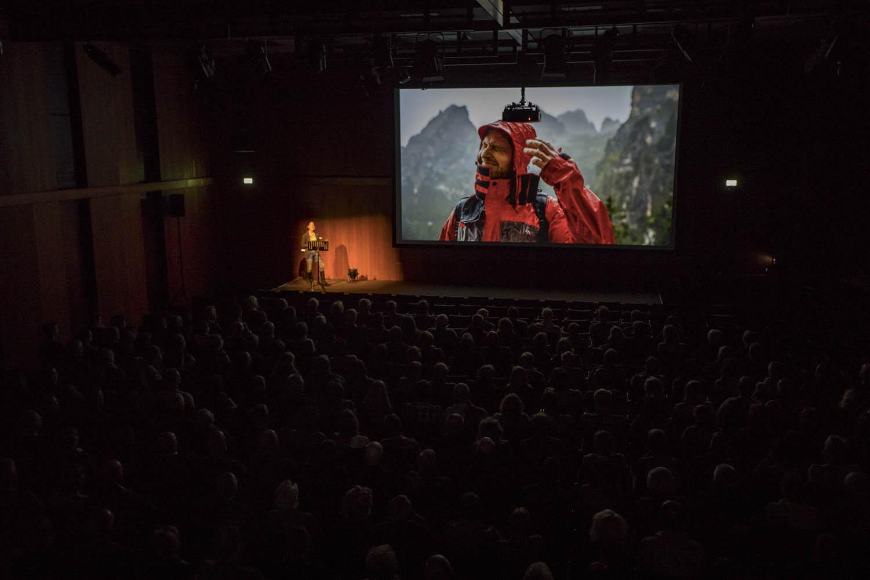 """170113_299Vortrag """"Abenteuer Dolomiten""""Foto: Alex Wenger"""