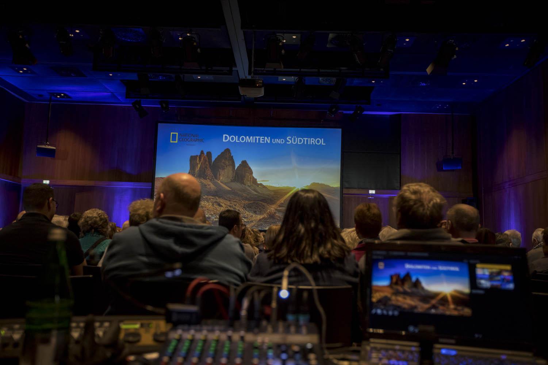 """170113_230Vortrag """"Abenteuer Dolomiten""""Foto: Alex Wenger"""
